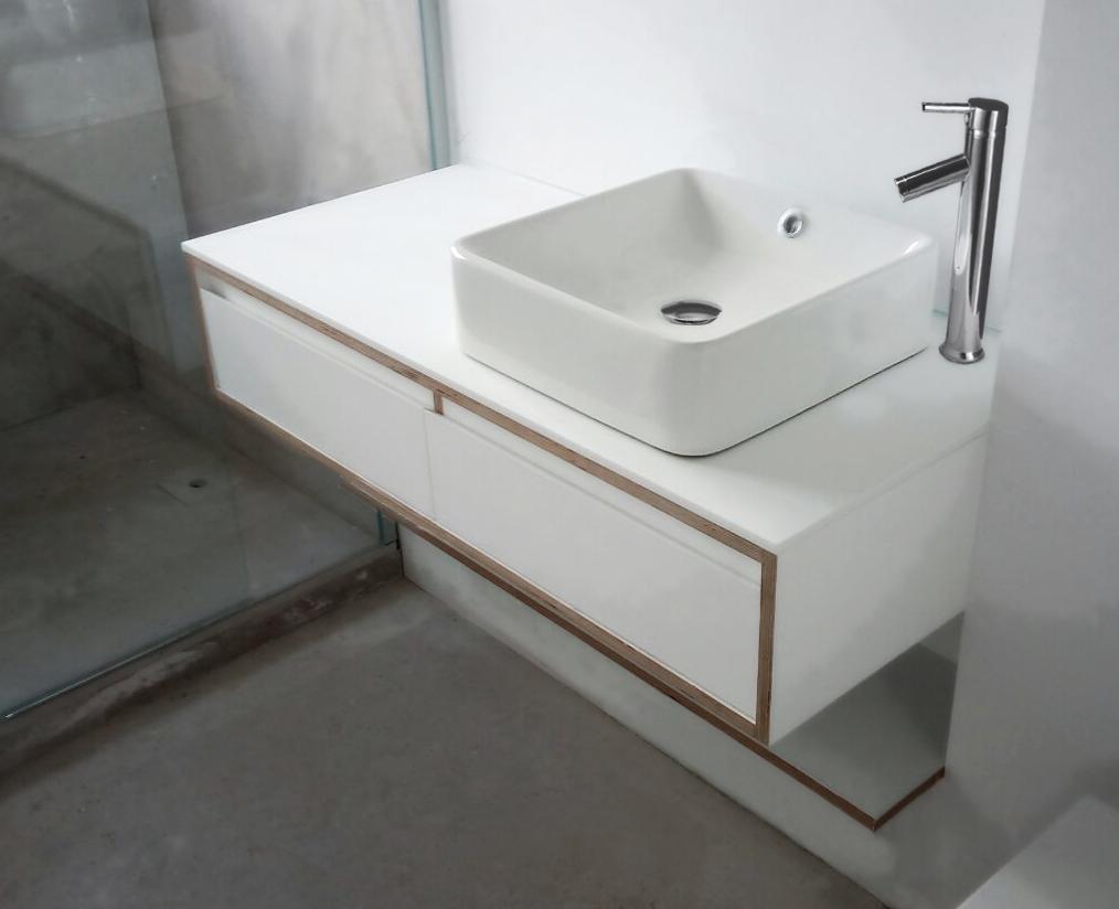 Lavabo sobre encimera doble muebles lavabos sobre for Lavabo doble seno con mueble